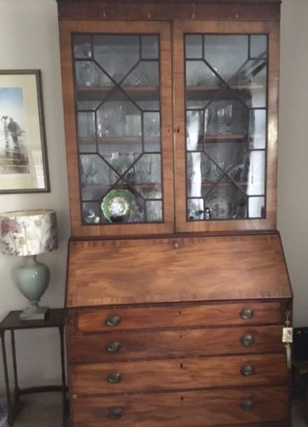 A Bureau Bookcase, a relic of times gone by and keeper of memories