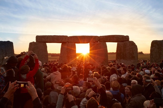Summer solstice at Stonehenge: life after 60 and lockdown