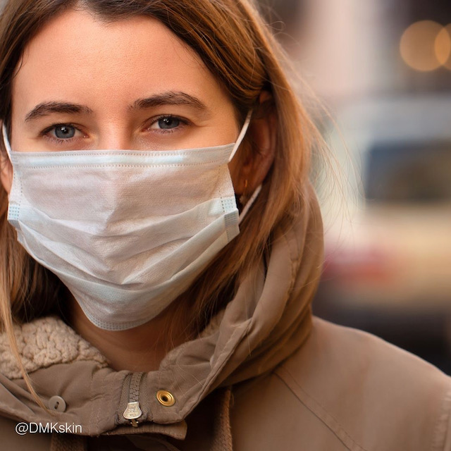 The frequent wearing of a face mask can sometimes have a detrimental impact on your skin's health even with 50 plus women.