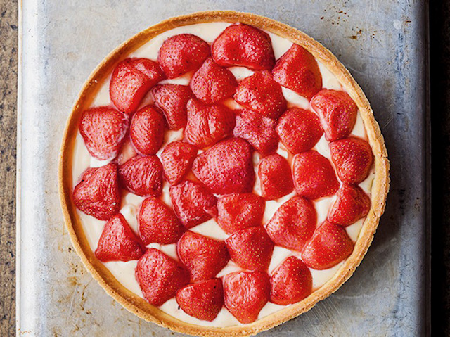 Strawberry and Mascarpone Tart created by Raymond Blanc