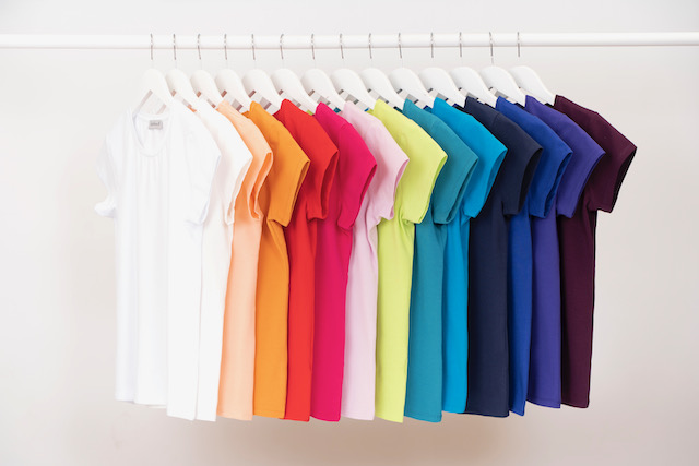 Range of T-shirts from Kettlewell Colours