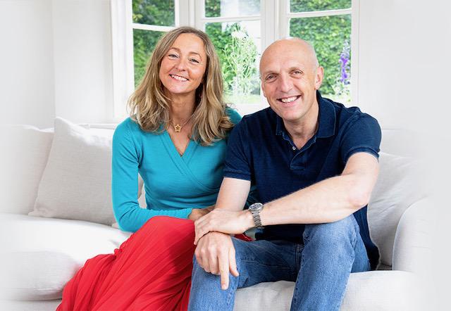 John & Melissa Nicholson, founders of Kettlewell Colours