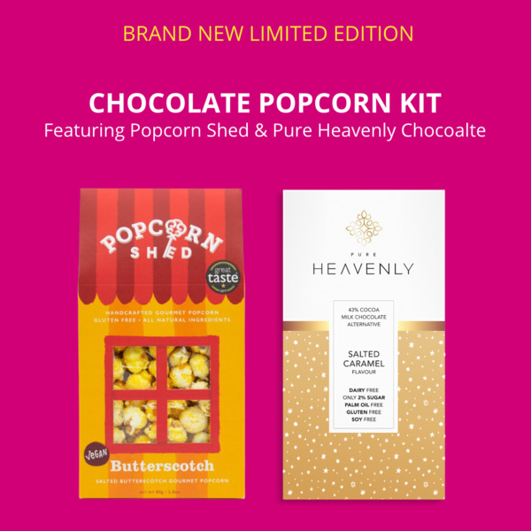 Top Product: Chocolate Popcorn kit from Pure Heavenly