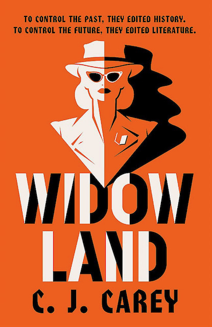 Book cover of Widowland by CJ Carey from post book review of thrillers