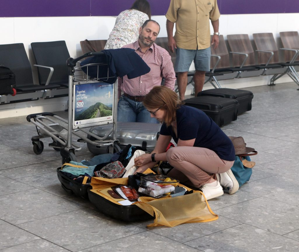 Travel advice: packing disasters