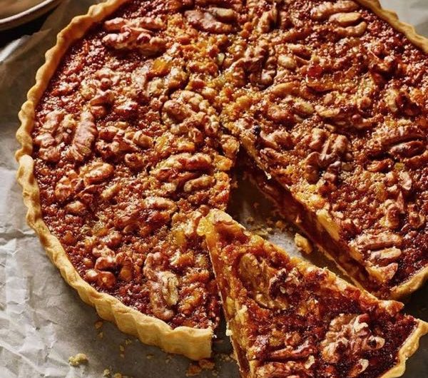 Walnut tart - another corker of a recipe from Le Rouzet