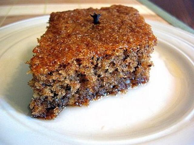 Greek Walnut Cake - Karydopita